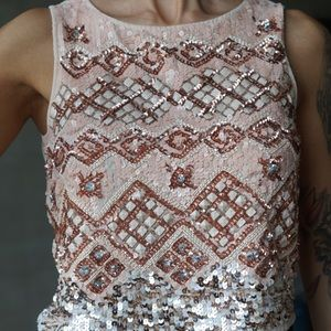 Special Edition Bohemian Fully Sequined Beaded Top